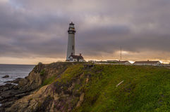 Pigeonpoint lighthouse,California Stock Photography