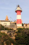Lighthouse above the port, Old Jaffa , Israel, Mediterranean Stock Photo