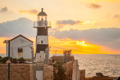Lighthouse, Acre Stock Photography