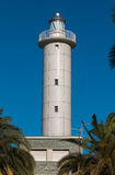 Lighthouse Against The Blue Sky - San Benedetto Del Tronto Royalty Free Stock Photos