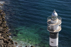 Lighthouse - Aguilas - Spain Royalty Free Stock Images