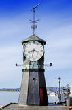 Lighthouse at Aker Brygge in Oslo Stock Image