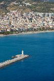 The lighthouse in Alanya, Turkey Stock Photos