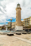 Lighthouse of Alexandroupolis city Royalty Free Stock Image