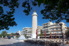 Lighthouse in Alexandroupolis - Greece Stock Images