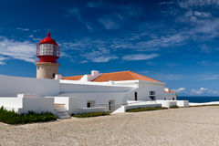 Lighthouse  Algarve Royalty Free Stock Photo