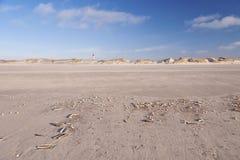 Lighthouse on Amrum Royalty Free Stock Photography