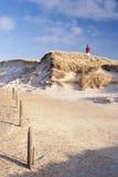 Lighthouse on Amrum Stock Image