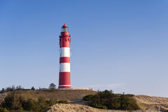 Lighthouse on Amrum Stock Photo