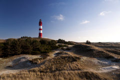 Lighthouse on Amrum Royalty Free Stock Photo