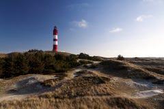Lighthouse on Amrum Royalty Free Stock Photo