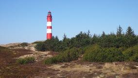 Lighthouse at Amrum royalty free stock photo