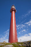Lighthouse of Andenes Stock Image