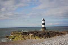 Lighthouse on Anglesey Wales Stock Photos