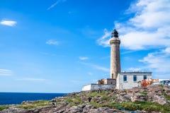 Lighthouse of Ardnamurchan, Scotland - United Kigdom. Buildings of Ardnamurchan Lighthouse, Scotland, United Kingdom Stock Photography
