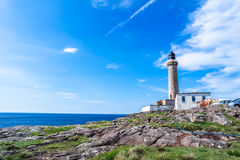 Lighthouse of Ardnamurchan, Scotland - United Kigdom Royalty Free Stock Images
