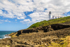 Arecibo lighthouse Royalty Free Stock Image