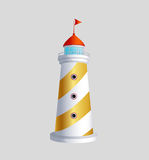 Lighthouse  art eps icon sybol download Stock Photos