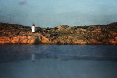 Lighthouse art Stock Images