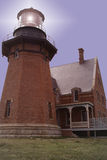 Lighthouse At Dusk Royalty Free Stock Image