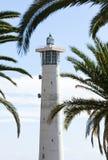 Lighthouse At Morro Jable, Fuerteventura Stock Image
