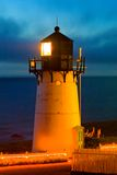 Lighthouse At Night Royalty Free Stock Photography