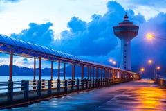 Free Lighthouse At Sunset Royalty Free Stock Photo - 35600635