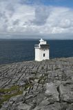 Lighthouse at the Atlantic Ocean Royalty Free Stock Images