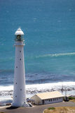 Lighthouse and Atlantic Ocean in background Royalty Free Stock Photography
