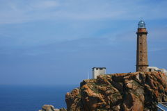 Lighthouse at the atlantic ocean Stock Photo