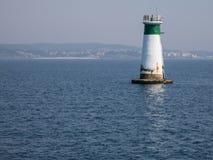Lighthouse in the atlantic sea Stock Photos