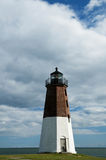 Lighthouse Attraction in Rhode island Royalty Free Stock Photography