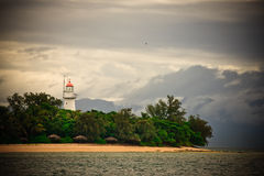 Lighthouse on the Australian coast Royalty Free Stock Photo
