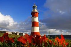 Lighthouse in autumn  Stock Photos