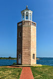 Lighthouse - Avery Point, Groton, Connecticut Stock Images