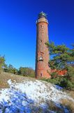Lighthouse at the Baltic Sea Stock Image