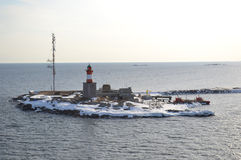 Lighthouse in the Baltic Sea. Stock Images