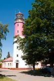 Lighthouse is Baltiysk, Russia Stock Photography