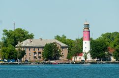 Lighthouse is Baltiysk, Russia Royalty Free Stock Photo