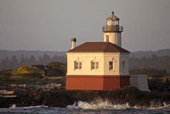 Lighthouse Bandon Oregon Stock Images