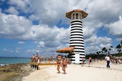 Lighthouse bar Royalty Free Stock Image