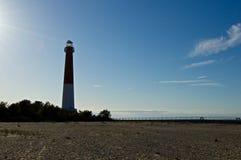 Lighthouse at Barnegat Light Stock Photography