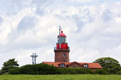 Lighthouse of Bastorf at the Baltic Sea Royalty Free Stock Photo