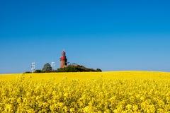 The lighthouse of Bastorf Royalty Free Stock Image
