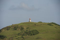 The lighthouse at Batanes Island, Philippines. Batanes is the no Stock Photography