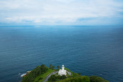 Lighthouse at bay of Biscay. Stock Photography