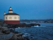 Lighthouse at beach Stock Photos
