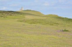 Lighthouse on Beachy Head. England Stock Photos