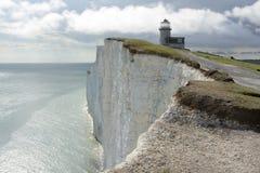 Lighthouse on Beachy Head. England Stock Photo