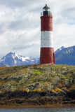 Lighthouse, Beagle Channel, Argentina Stock Photo